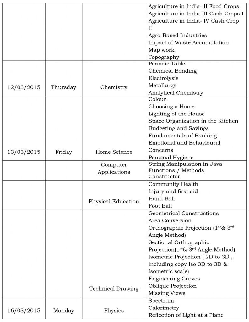 final exams schedule ix-3