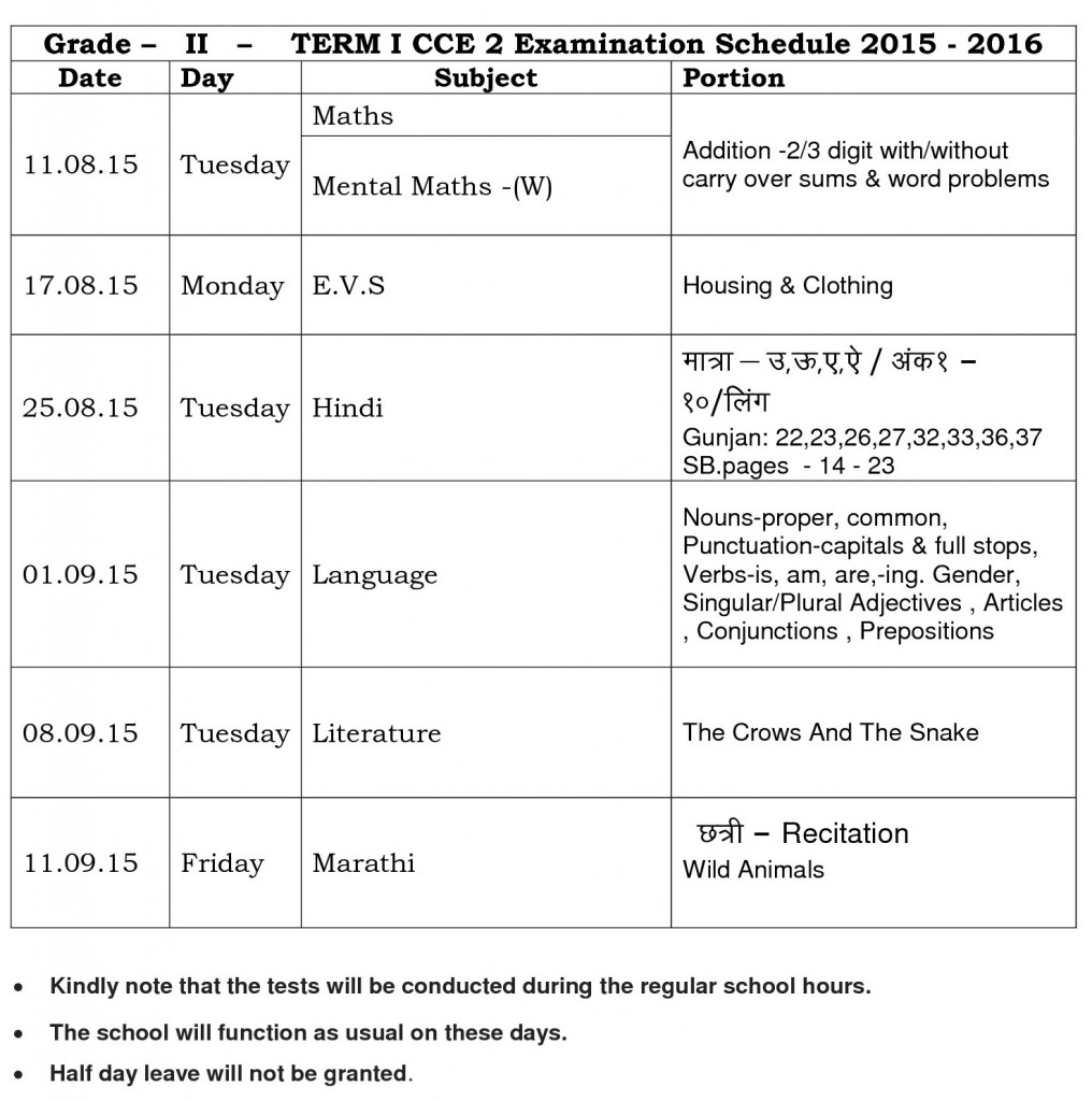 grade - ii - term - i - cce - 2 - parent