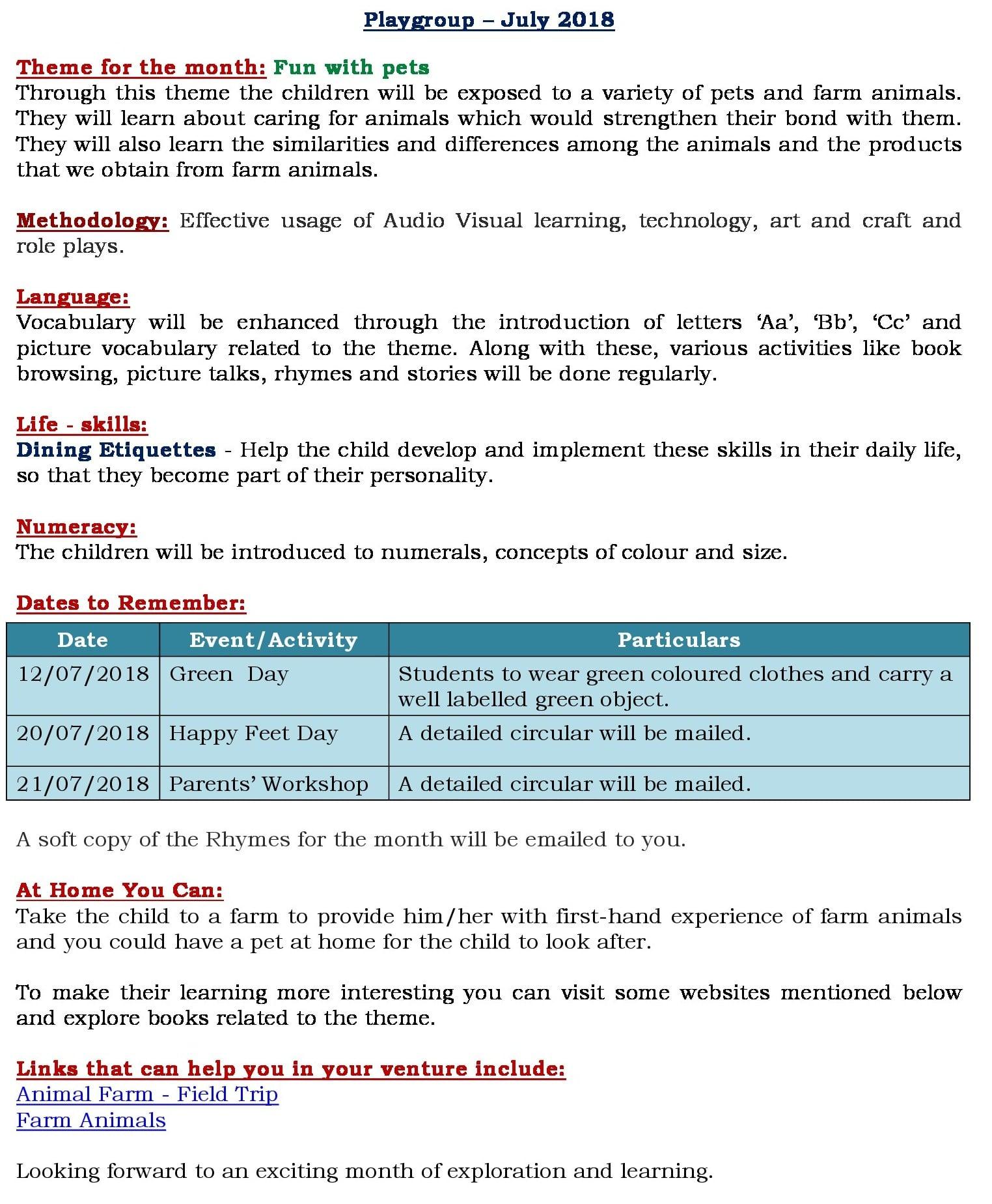 Unit 2 Curriculum Insight