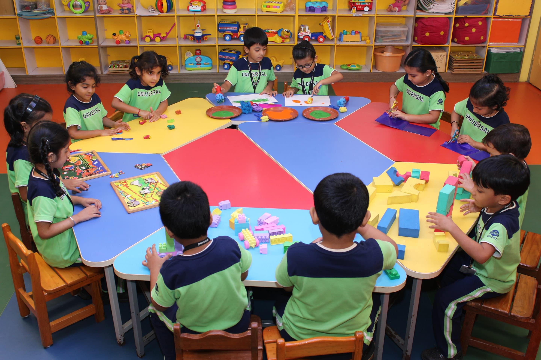 Pre Primary Curriculum | St  John's Universal School